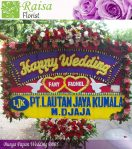 Bunga Papan Wedding B005